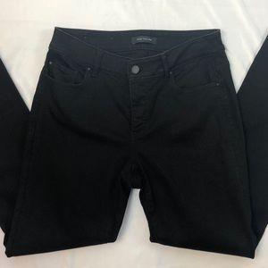 "Ann Taylor Black ""Skinny Curvy Fit"" Jeans"